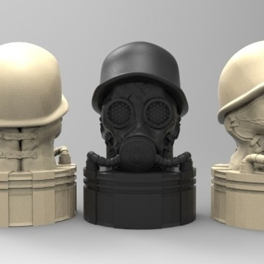 gas.jpg Download STL file antique gas mask • 3D printer design, fer4lvarez