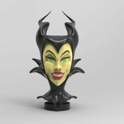 malef.jpg Télécharger fichier STL sorcière maléfique • Modèle imprimable en 3D, fer4lvarez