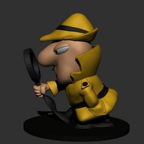 Download 3D model THE INSPECTOR, fer4lvarez
