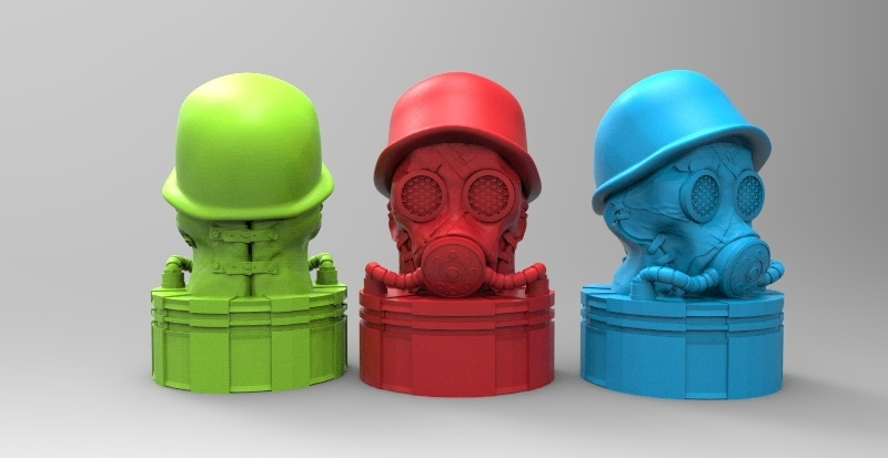 gas.299.jpg Download STL file antique gas mask • 3D printer design, fer4lvarez