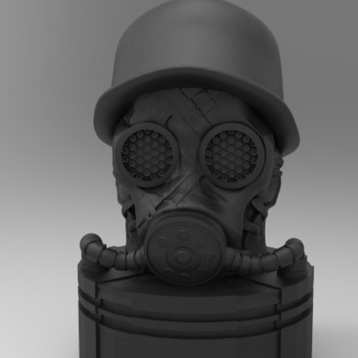 gas.301.jpg Download STL file antique gas mask • 3D printer design, fer4lvarez
