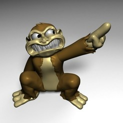 Download 3D printing files MONKEY BAD, fer4lvarez