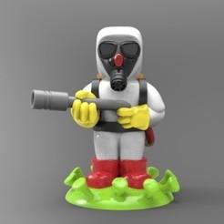 radioactivo.jpg Download STL file antiviral suit • 3D print object, fer4lvarez