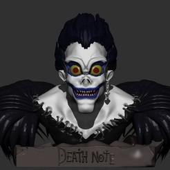 3D printer files Shinigami Ryuk, fer4lvarez