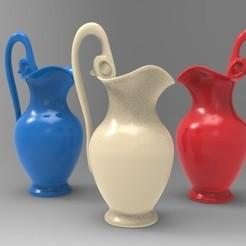 JARRON GRIEGO.jpg Download STL file Greek vase • 3D printing object, fer4lvarez