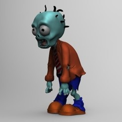 Download 3D printer model zombie, fer4lvarez