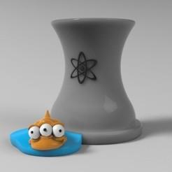 planta nuclear.jpg Télécharger fichier STL stylo de la centrale nucléaire • Objet imprimable en 3D, fer4lvarez