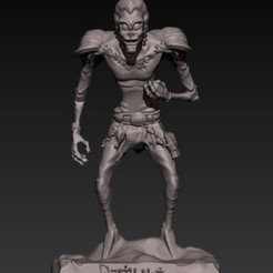 Download 3D printing models Shinigami Ryuk body, fer4lvarez