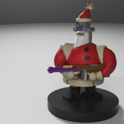 Download 3D printer model bad saint, fer4lvarez