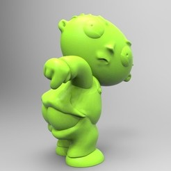 Download 3D printer model stewie griffin, fer4lvarez