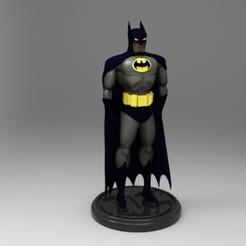 Descargar modelo 3D batman dc comics, fer4lvarez