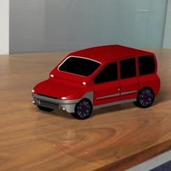 Modelos 3D Maqueta a escala Fiat Multiplat, DenisJ