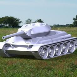3D printer models Tank mountable model model, DenisJ