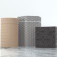 Download free 3D printer files Hexagon textured box, Syboulette