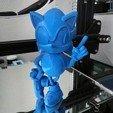 Download free 3D printer designs Sonic en 2 parties ( sonic in two parts), onizuka63