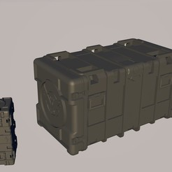 Sin título.jpg Download OBJ file the division 1 and 2 baul • 3D printer object, navedeguerraa