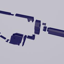Télécharger fichier 3D kriss vector mod nerf, navedeguerraa