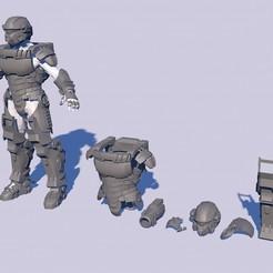 Descargar diseños 3D Starship Troopers Invasion, navedeguerraa