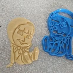 Impresiones 3D Cortapastas Masha, willybujin