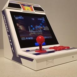 0.JPG Télécharger fichier STL Mini bartop : Sega Aero City • Objet à imprimer en 3D, Arcade