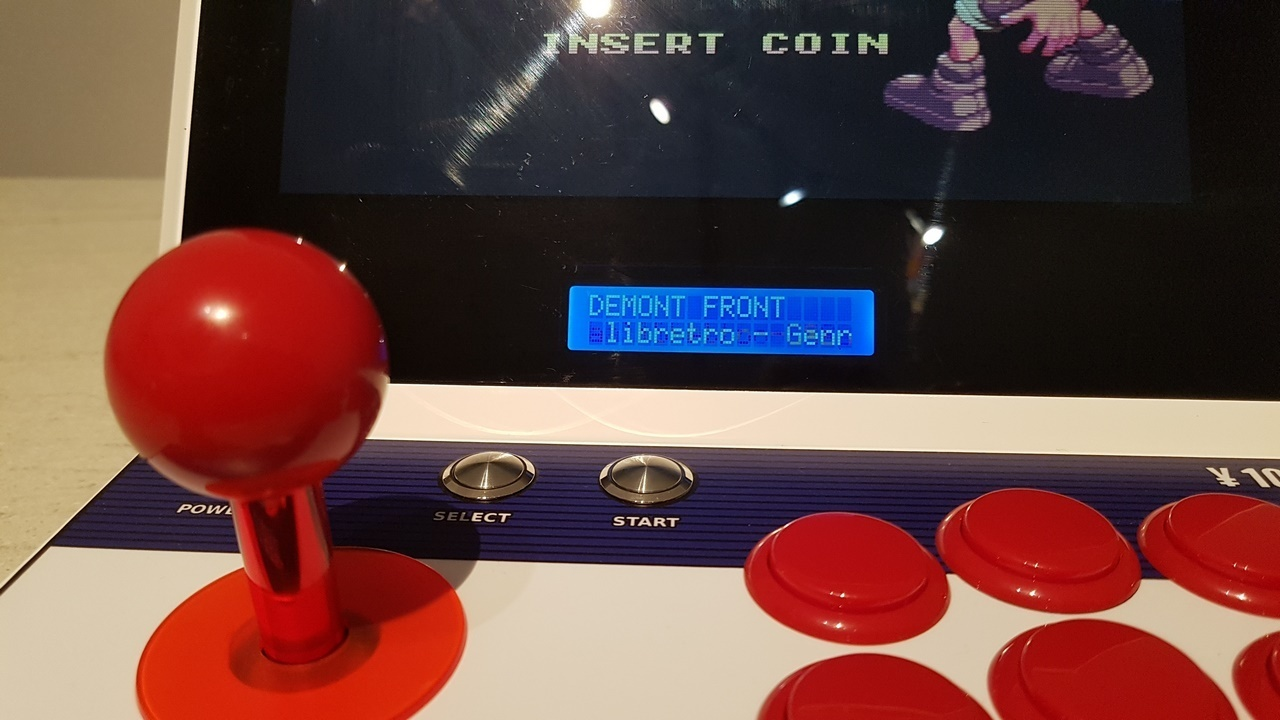 6.JPG Download STL file Mini bartop : Sega Aero City • 3D printing design, Arcade