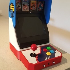 2.JPG Download STL file Mini bartop : Neo Geo • Model to 3D print, Arcade