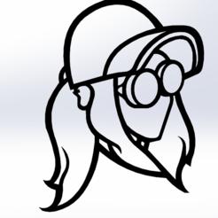 Télécharger fichier STL gratuit Rezz Lover's • Objet pour imprimante 3D, Rinoxus