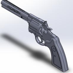 Download free 3D model Colt Anaconda (First Edition), Rinoxus