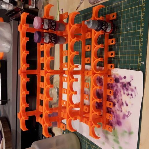 Télécharger fichier imprimante 3D gratuit Rack Army Painter / Vallejo, slobjois