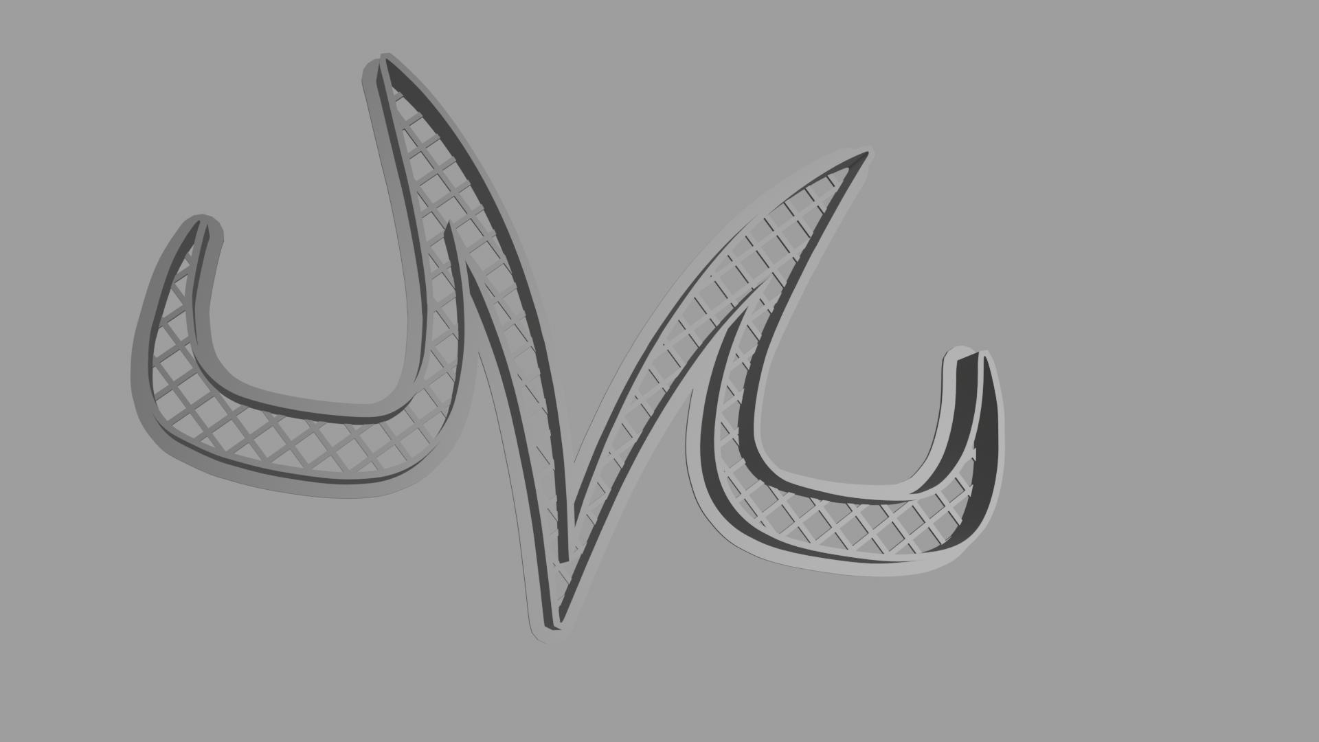 Download Stl File Majin Vegeta Logo Cookie Cutter 3d Printer Model Cults
