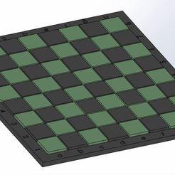 Imprimir en 3D Tablero de ajedrez en relieve, gmeca