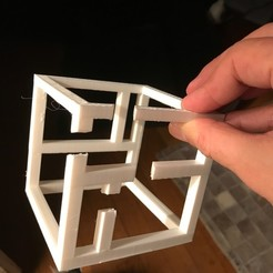 Diseños 3D gratis Cubo Imposible 4, drthbodin