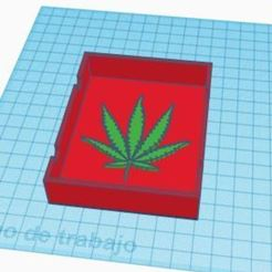 cnic.JPG Download STL file cenicero weed • 3D printable template, antonio_1996_206
