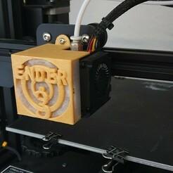 20210104_165909.jpg Télécharger fichier STL gratuit Lüfterabdeckung Filter für Extruder • Modèle pour impression 3D, Gifti