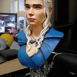 Modèle 3D gratuit Daenerys, tarcaleiro