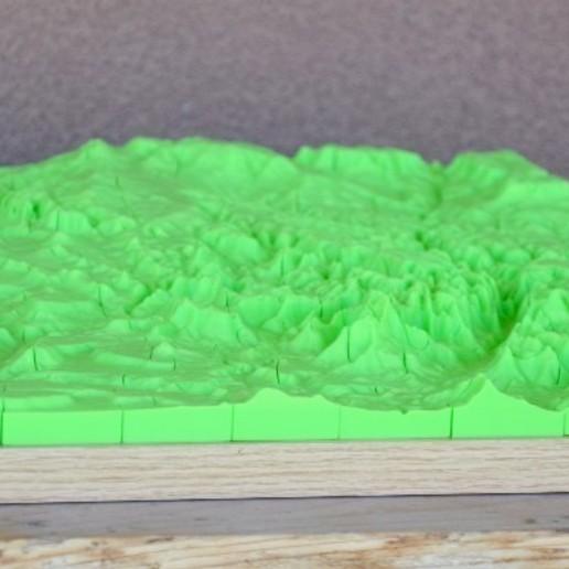 DSC_7762.JPG Télécharger fichier STL gratuit Echelle épique - Terrain - Zion NP • Objet à imprimer en 3D, TCP491016