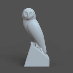 Descargar modelo 3D owl, gerard185