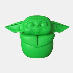by1.jpg Download STL file baby yoda • 3D print object, gerard185