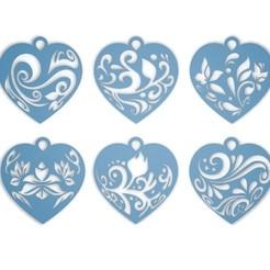 1.jpg Download STL file hearts • 3D printing design, gerard185