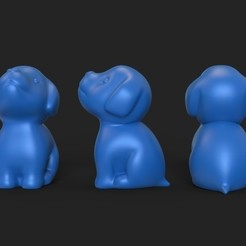 Télécharger fichier impression 3D chien, gerard185