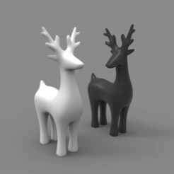 d1.jpg Download STL file deer • 3D printer object, gerard185