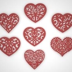 nm.jpg Download STL file hearts • 3D printing design, gerard185