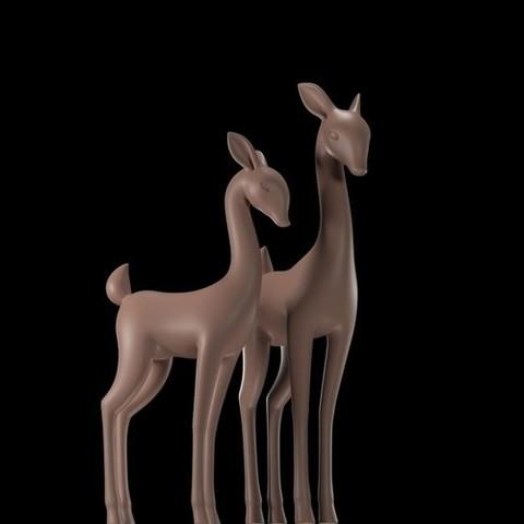 STL files deer, gerard185