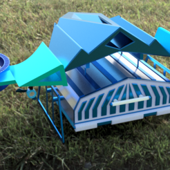 Télécharger STL Aero Cruiser Design, KalamityKontact