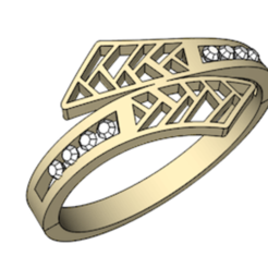 Free 3D print files Ring with Diamond setting, ddanon124