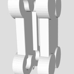 Modelos 3D para imprimir Colgante Cremación de perro, ddanon124