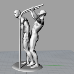 STL files Gay Man on Man Erotica BDSM (Rare CAD design), EverlastingXXXpressions