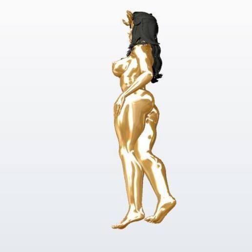 Download 3D printing models yinyleon the queen, KalamityKontact
