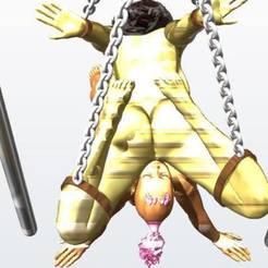 3D printer models Gianna Michaels and Ebony girl Bondage Scene Cunnilingus, EverlastingXXXpressions
