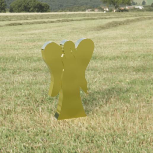 Descargar modelos 3D para imprimir Ángel en los campos Diseño CAD, KalamityKontact